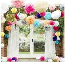 8 Inch 20cm DIY Colored Paper Flower Ball For Wedding Decoration Baby Room Nursery Holiday Party Online With 175 Piece On Jackylucys Store