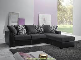 deco canapé gris moderne canapé gris foncé déco artsvette