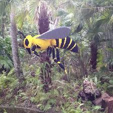 Lego bumble bee Picture of McKee Botanical Garden Vero