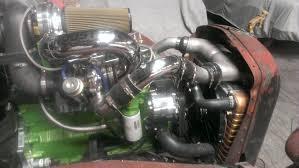 100 Rat Rod Semi Truck Gator Mack Radiator Shroud CAC Electric Fans Built For