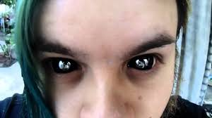 Prescription Colored Contacts Halloween Uk by Riddick Sclera Contact Lenses Youtube
