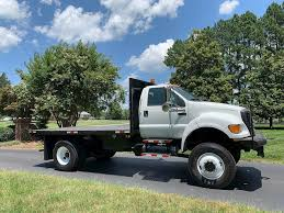 100 Cheap Trucks For Sale In Va 2009 D F750 XL Single Axle Flatbed Truck Cummins ISB 240HP 48559 Miles Chatham VA 134910 MyLittlesmancom
