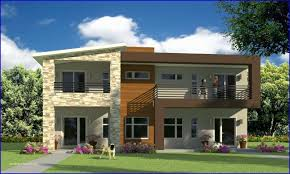 100 Contemporary Duplex Plans Modern House And Modern House Designs