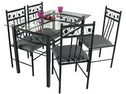 table et chaises de cuisine chez conforama ensemble table chaise cuisine maison design hosnya com