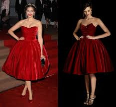 Vintage Velvet Ball Gown Cocktail Dresses Strapless Off The Shoulder Sleeveless Knee Length Pleats High Quality Short In From