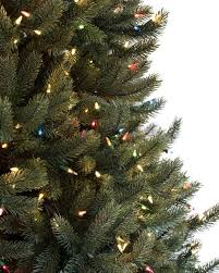 9 Ft Pre Lit Slim Christmas Tree by Vermont White Spruce Tree Balsam Hill