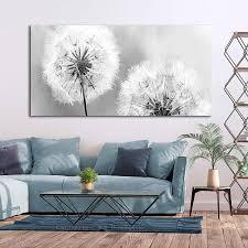 decomonkey bilder pusteblume 150x50 cm 1 teilig