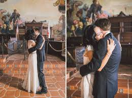 Santa Barbara Courthouse Mural Room by Santa Barbara Courthouse Wedding Anna Delores Photography