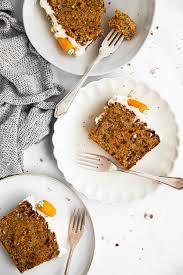 einfacher karottenkuchen mit frischkäse crème rezept mit