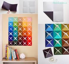 How To Make Origami Paper Craft Wall Decoration Step By DIY Tutorial Instructions