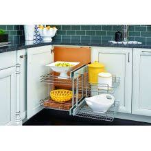 Blind Corner Base Cabinet Organizer by Blind Corner Cabinet Pull Out Shelves U0026 Organizers At Pullsdirect Com