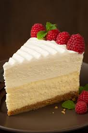 Vanilla Bean Cheesecake Cheesecake Factory Copycat Vanilla bean cheesecake topped with a layer of white chocolate mousse which is then topped with a