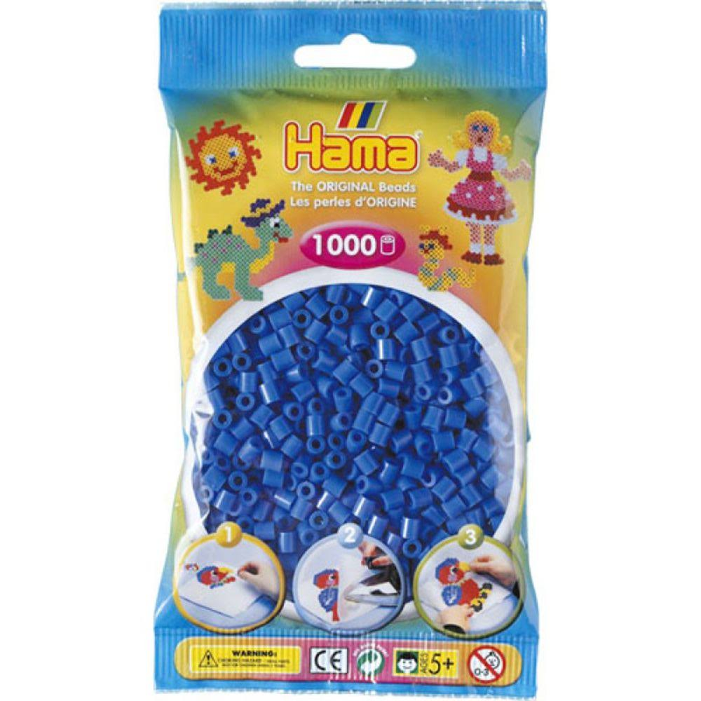 Hama Beads - Light Blue, 1000 Piece