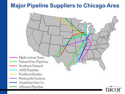 Major Pipeline Suppliers To Chicago Area