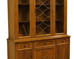 High End Tuscan Italian Provincial 57 China Cabinet