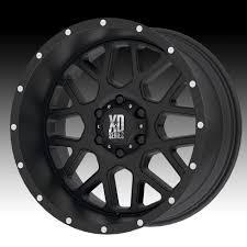100 20 Inch Truck Rims X10 XD Series XD8 Grenade 5x150 24mm Satin Black Wheel