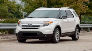 Ford Explorer Captains Chairs Second Row by 2012 Ford Explorer Is Still Cramped Despite Extra Seating Newsday