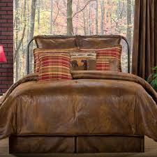 Wooded River Bedding by Lodge Bedding Cabin Place