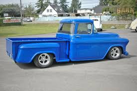 100 Chevy Hot Rod Truck 1956 Chevrolet 3100 Big Window Stepside Pickup Rod