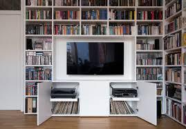 multimedia bibliothek modern wohnzimmer berlin