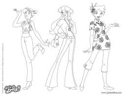 √ Coloriage Totally Spies Alex Totally Spies 34 Cartoons