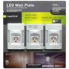 review capstone wall plate led lights ar15