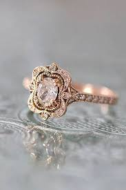Morganite Wedding Engagement Rings For 2017 Oval Vintage Style