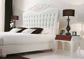 White Velvet King Headboard by Bedroom Engaging Picture Of White Bedroom Decoration Using Curved