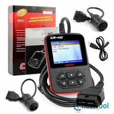 Launch CR-HD Truck Diagnostic Tool Scanner Tester Kit VCI D OBDII ... Volvo 88890300 Vocom Interface For Volvorenaultudmack Truck Diagnose Actia Multidiag Multidiag Trucks Vxscan H90 J2534 Multibrand Diagnostic Tool Obd2shopcouk Universal Heavy Duty Diesel Scanner Obd2 Hd Software Us1100 Xtool Ps2 Automobile Professional Key Program Tool With Bluetooth Ialtestlink Diagnostics Diagnosis Nexiq 125032 Full Set Usb Link Autel Maxisys Ms908cv Commercial Vehicle Original Xtool Hd900 Us25800 Augocom H8