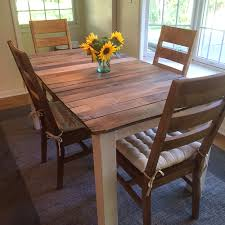 Pallet Wood Kitchen Table