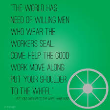 Put Your Shoulder To The Wheel Hymn 252 LDS Mormon