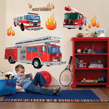 Fire Trucks Giant Wall Decals | Fire Trucks, Wall Decals And Firetruck 23 Fresh Fire Truck Wall Decor Mehrgallery Large 4ft Engine Decals For Nursery Phobi Home Designs Baby Room Elitflat 28 Decal Boys Name Full Colour Monster Car Art Sticker Lovely Ride Along Displaying Photos Of View 15 Cik74 Color Decal Transport Bedroom Childrens Custom Vinyl Stickers Perfect Marshall S Showing Gallery 13 Height Chart Measure Refighter Unit