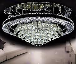 led deckenleuchte lüster deckenle kristallglas wohnzimmer