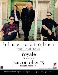 Blue October 18th Floor Balcony by Blue October Royale Boston
