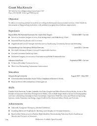 Resume Objective Examples For Restaurant Server Template New Skills Sample Waitress Cover R