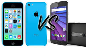 2015 Moto G vs iPhone 5C smartphone parison review Macworld UK