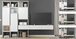 toro kleine wohnwand mit tv lowboard regalsystem wohnzimmer