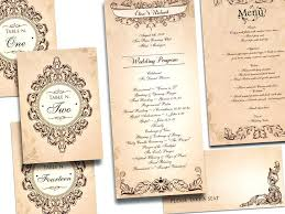 Unique Vintage Wedding Invitations Antique Combined With Your Creativity Will Make This Looks Awesome