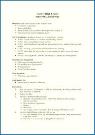 High School Resume Objective Writing Example How To Write A Sample Objectives For
