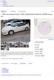100 Craigslist Dallas Tx Cars And Trucks By Owner At 22500 Would You Make This 1998 Acura Integra TypeR An