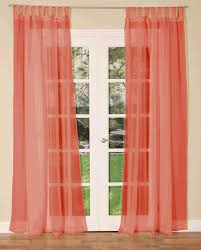 tab top voile single curtain panel free uk delivery terrys fabrics