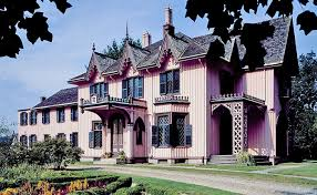 Gothic Revival Victorian House