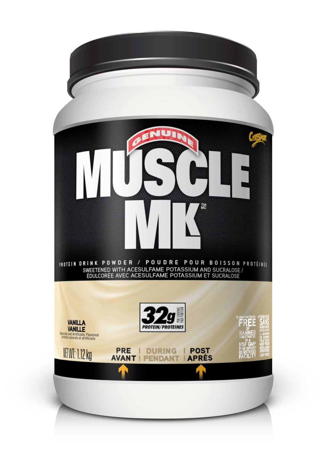 Cytosport Muscle Nutritional Supplement - Milk Vanilla, 2.48lbs