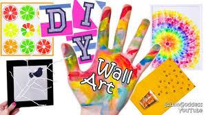 Diy Wall Art Projects Or Walls Room Decor Tutorial Medium Size