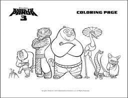 Beautiful Kung Fu Panda Coloring Pages 43 About Remodel Online With