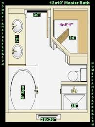 Master Bathroom Layout Designs by 8 X 12 Foot Master Bathroom Floor Plans Walk In Shower Possible