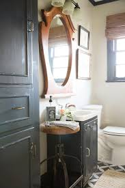 Southern Eclectic Cottage Farmhouse Bathroom