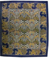 Vintage Arts and Crafts Voysey Rug BB2515 by Doris Leslie Blau