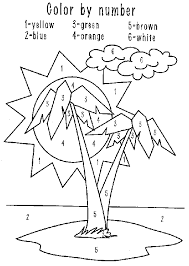 Coloring Sheets Palm Trees Scriptures
