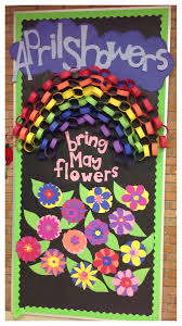 Spring Classroom Door Decorations Pinterest by April Showers Bring May Flowers Spring Kindergarten Bulletin
